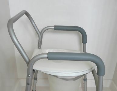 handicap toilet seat with handles