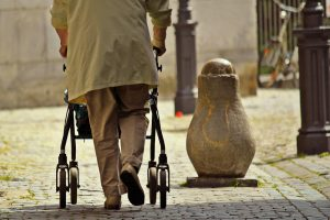 types of walkers for elderly