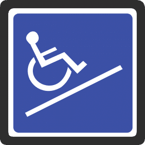 wheelchair width
