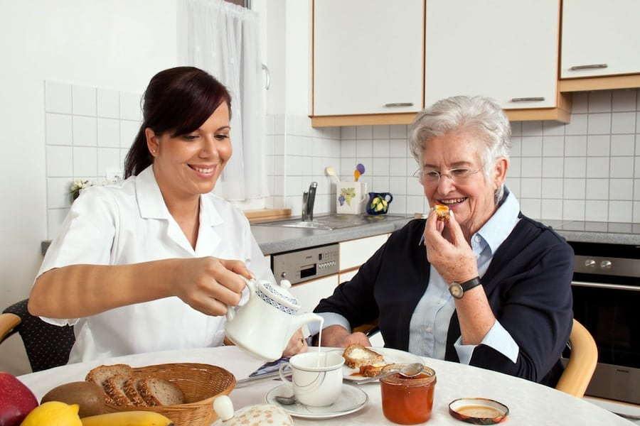 taking care of elderly parents at home