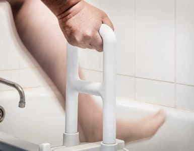 best bathtub safety rails