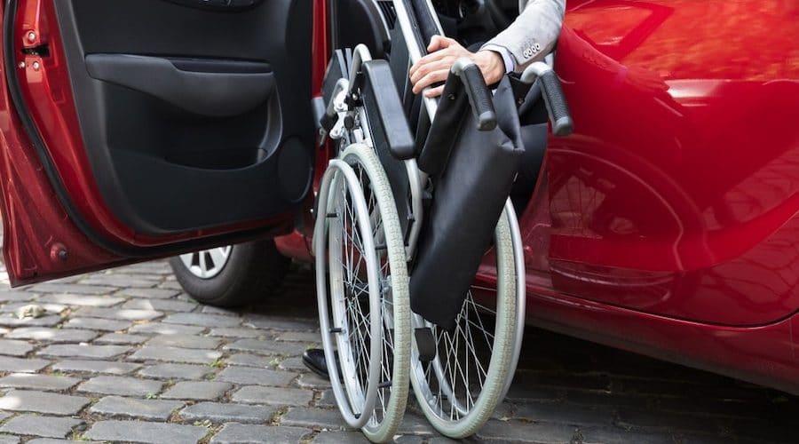 best folding wheelchair