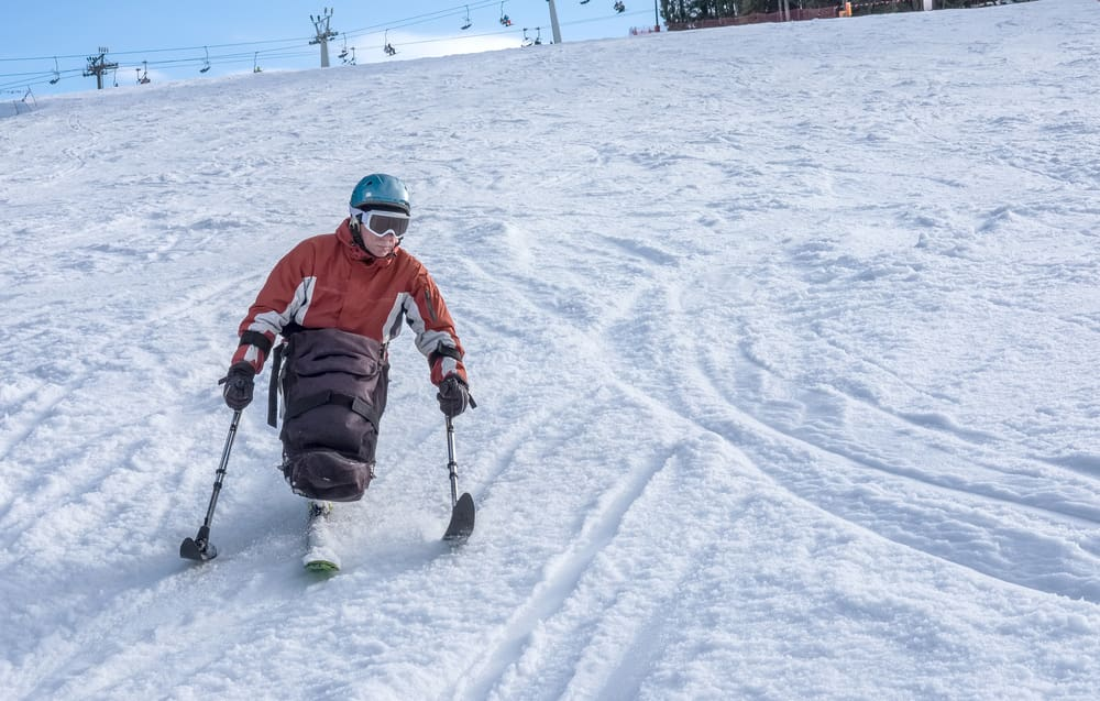 skiing for wheelchair users