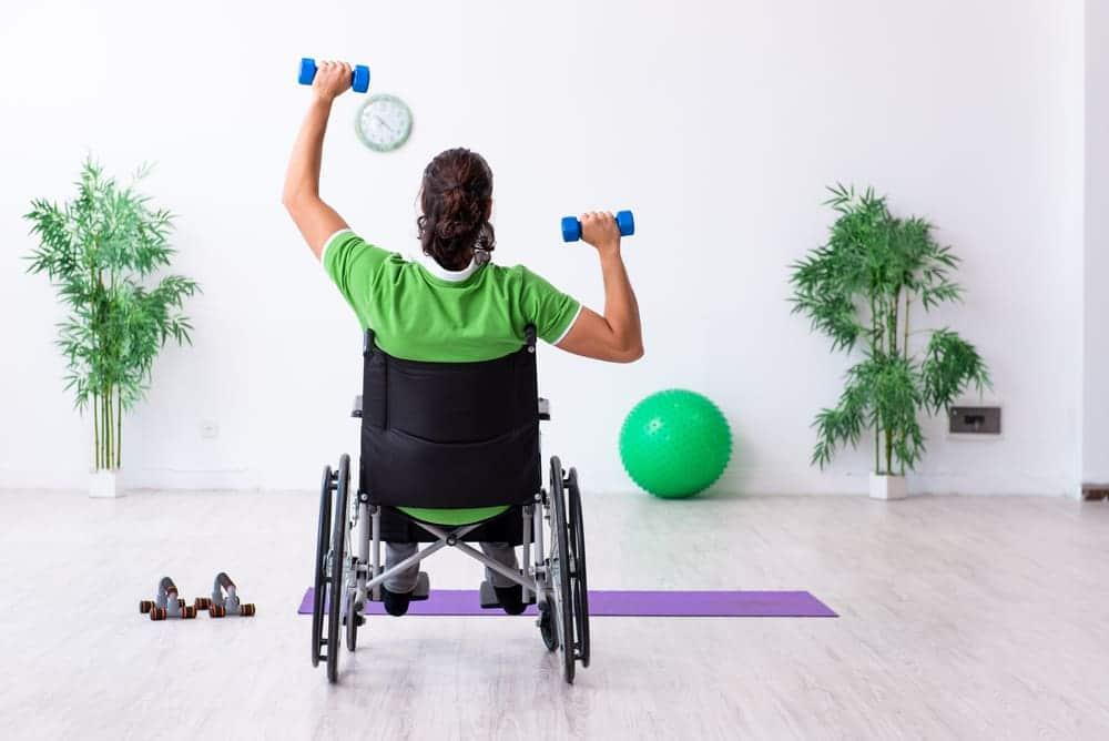 wheelchair weightlifting