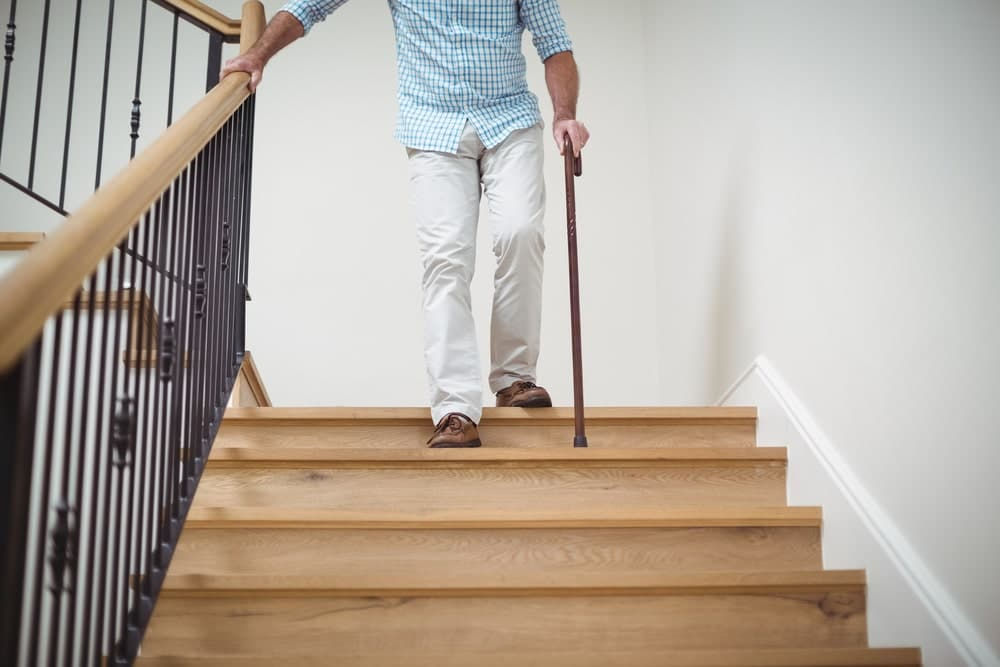 stair safety tips for seniors