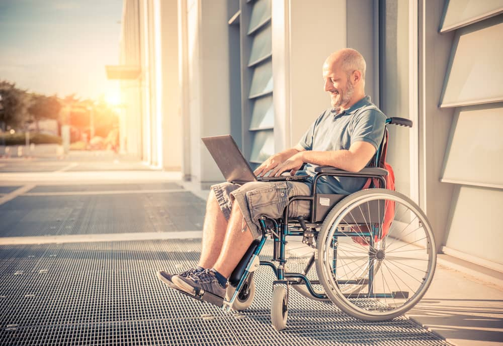wheelchair for elderly