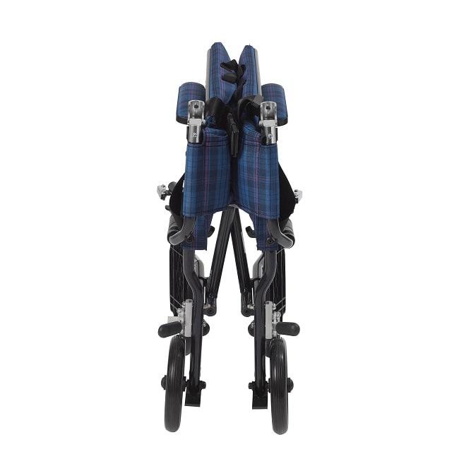 Drive Medical Fly Lite Ultra Lightweight Transport Wheelchair foldable