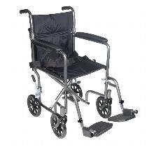 Drive Medical Wrangler II Transport Wheelchair