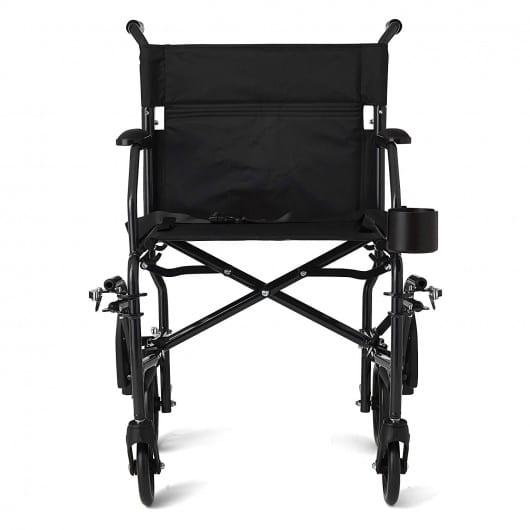 Medline Ultralight Transport Chair overview