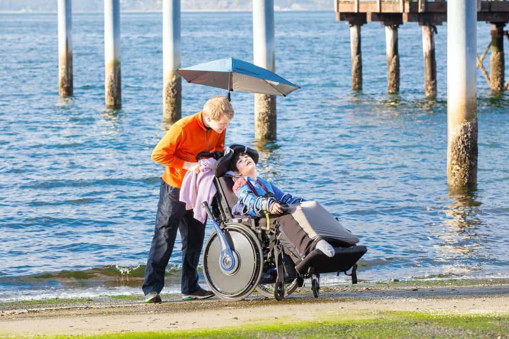 best wheelchair umbrella