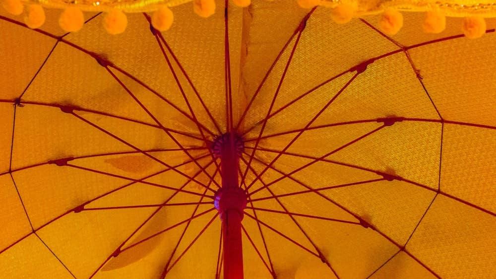 umbrella for wheelchair
