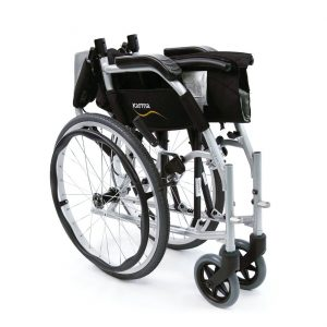 Karman Ergo Flight Ergonomic Wheelchair - quick release wheels