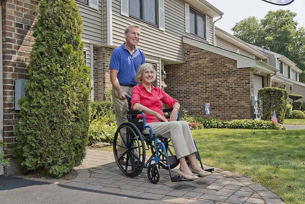 drive medical blue streak wheelchair review