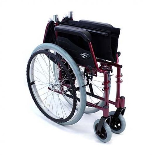 karman lt 980 ultralight wheelchair-fold