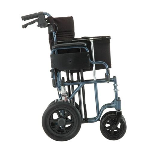 nova 352 lightweight transport chair-fold